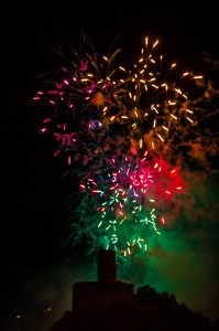 2018 - Feux artifices -  Martigny (1317)