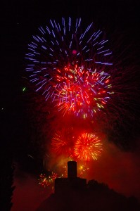2018 - Feux artifices -  Martigny (1557)